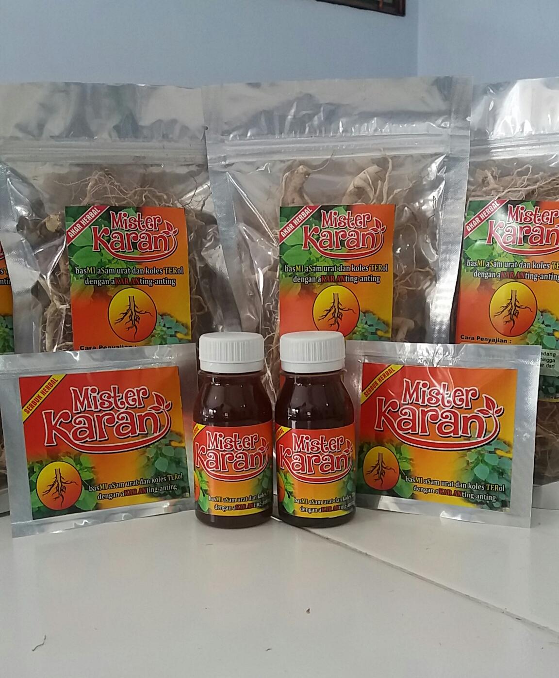 Produk Baru Herbal penurun Asam urat dan Kolesterol berbasis tanaman Anting anting .Acalypha indica.